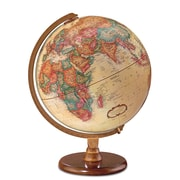 Darby Home Co 12'' Antique French or English World Globe; English