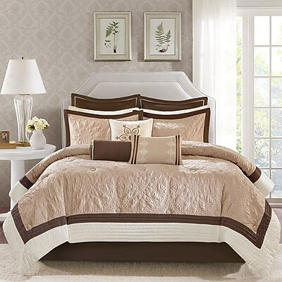 Darby Home Co Kristie 9 Piece Comforter Set; King