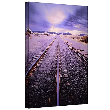 ArtWall 'Vanishing Point Arizona' by Dean Uhlinger Photographic Print on Wrapped Canvas