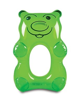 Giant Green Gummy Bear Pool Float