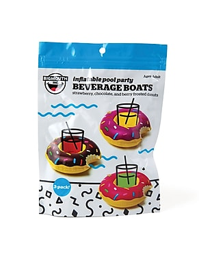 Donut Inflatable Pool Party Beverage Boats