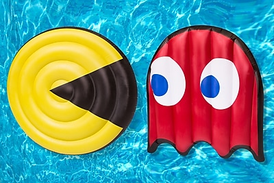Pac Man Set Pool Float