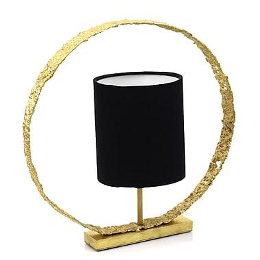Peetal New York Lotus Loopy 16'' Table Lamp