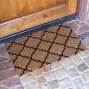 Rubber-Cal, Inc. ''Casablanca'' Doormat; Brown