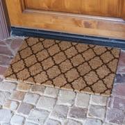 Rubber-Cal, Inc. ''The Moroccan'' Doormat; Brown