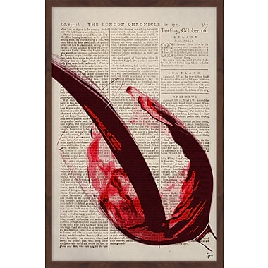Ivy Bronx 'Cabernet Sauvignon' Framed Painting Print; 30'' H x 20'' W x 1.5'' D