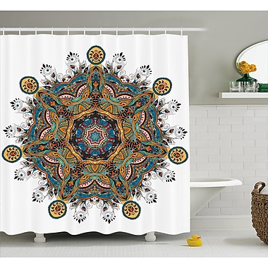 Nell Oriental Mandala Pattern w/ Several Exquisite Colors Cultural Tribal Boho Shower Curtain