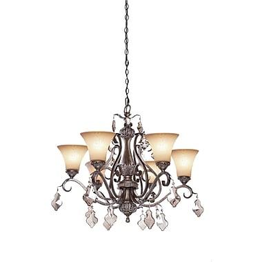 Astoria Grand Blackwater 6-Light Shaded Chandelier