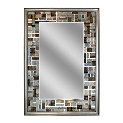 Latitude Run Tile Accent Wall Mirror