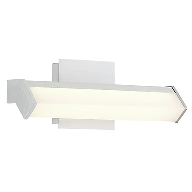 Latitude Run Broadhurst Angled Metal LED Bath Bar