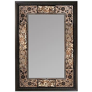 Astoria Grand Tile Rectangle Accent Wall Mirror