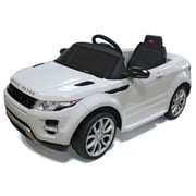 Vroom Rider Range Rover Rastar 12V Battery Powered Car; White