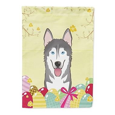 Caroline's Treasures Easter Egg Hunt 2-Sided Garden Flag; Alaskan