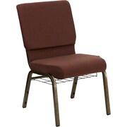 Ebern Designs Taylor Church Chair; Brown