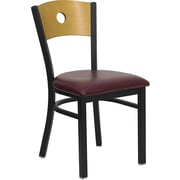 Ebern Designs Taylor Chair; Burgundy