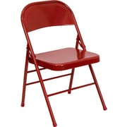 Ebern Designs Taylor Folding Chair; Red