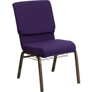 Ebern Designs Taylor Church Chair; Royal Purple