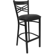 Latitude Run Buster 31'' Bar Stool; Black
