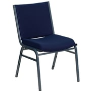 Ebern Designs Taylor Armless Stacking Chair; Navy