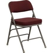 Ebern Designs Taylor Folding Chair; Burgundy