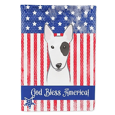 Caroline's Treasures 2-Sided Garden Flag; Bull Terrier
