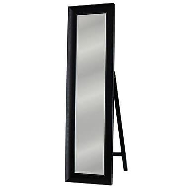Darby Home Co Cross Grain Floor Cheval Mirror
