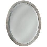 Latitude Run Oval Flat Edge Bathroom/Vanity Wall Mirror