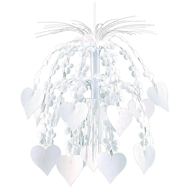 Amscan Flower and Heart Hanging Cascade
