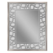 Brayden Studio Etched Oblong Circle Accent Wall Mirror