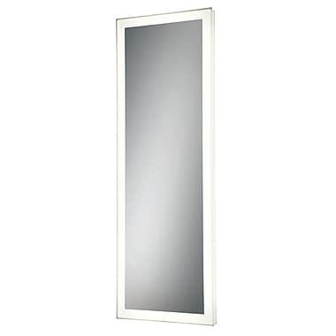 Orren Ellis Linear Rectangle Edge-Lit Bathroom/Vanity Mirror