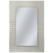 Brayden Studio Etched Geometric Accent Wall Mirror