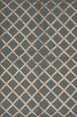 Rosdorf Park Bonefield Kilim Gray/Brown Area Rug