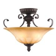 Fleur De Lis Living Ailith 3-Light Convertible Inverted Pendant