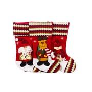 The Holiday Aisle 3 Piece Christmas Stocking Set