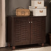Darby Home Co 9-Pair Shoe Storage Cabinet