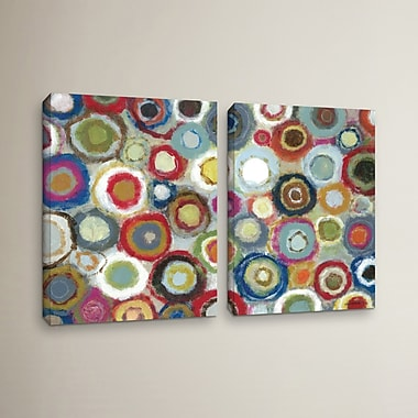 Red Barrel Studio By Chance 2 Piece Painting Print on Wrapped Canvas Set; 32'' H x 48'' W x 2'' D