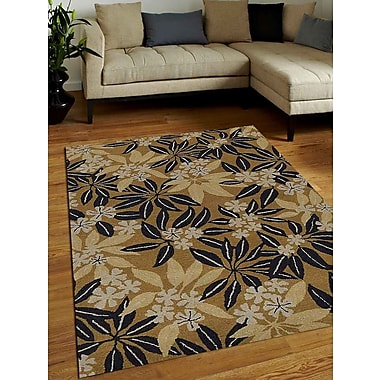 Get My Rugs Hand-Tufted Gold Area Rug; 4'x6'