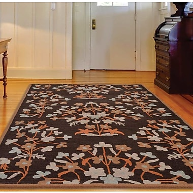 Get My Rugs Hand-Tufted Brown Area Rug; 8'x11'