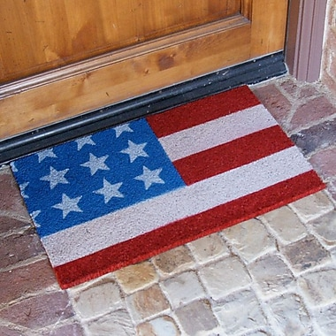 Rubber-Cal, Inc. ''Stars and Stripes'' Doormat