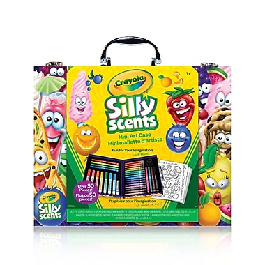 Crayola – Mallette d'art Mini Inspiration Silly Scents