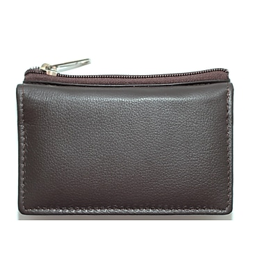 Ashlin® Bi-fold Mini-Wallet with Change Purse and ID Slot, Dark Brown (K262-18-02)