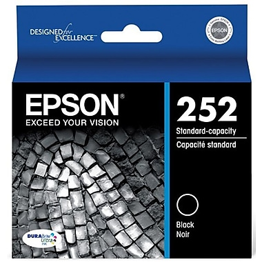 Epson 702 Black Standard Ink Cartridges, 2/Pack (T702120-D2)