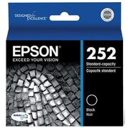 Epson 702 Black Standard Ink Cartridges, 2/Pack (T702120-D2)