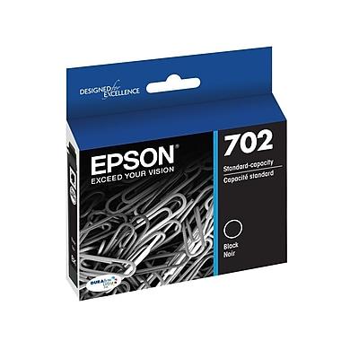 Epson - Cartouches d'encre noire standard 702, paq./2 (T702120-D2)