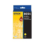 Epson 802 Yellow High Capacity Ink Cartridge (T802XL420)