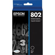 Epson 802 Ultra Black Standard Ink Cartridge (T802120-S)