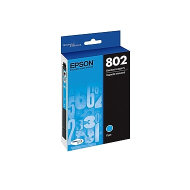 Epson 802 Ultra Cyan Standard Ink Cartridge (T802220-S)