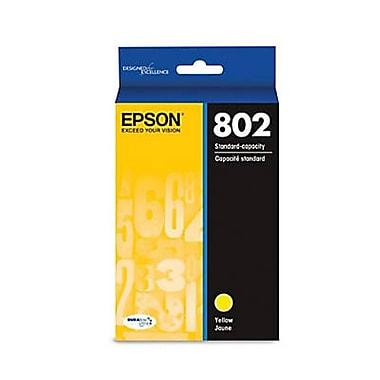 Epson 802 Ultra Yellow Standard Ink Cartridge (T802420-S)