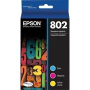 Epson - Cartouche d'encre ultra 802 couleur standard, paquet combiné (T802520-S)
