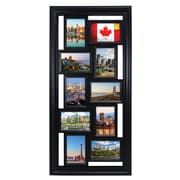 "Kiera Grace Montage Collage Frame, 10-4x6"", Black"